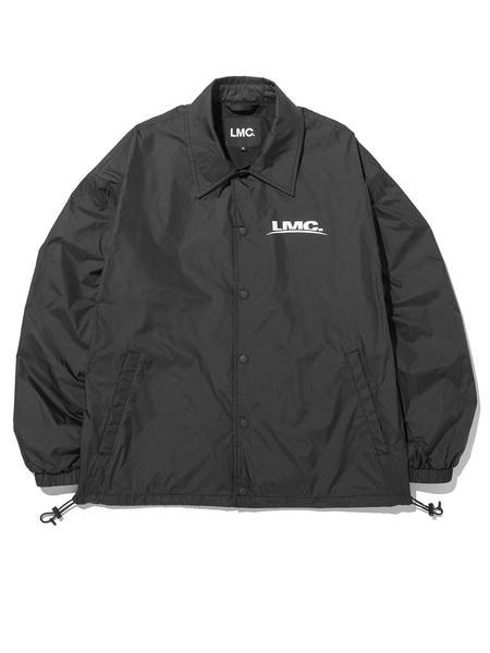 LMC Tech Logo Coach Jacket - Black