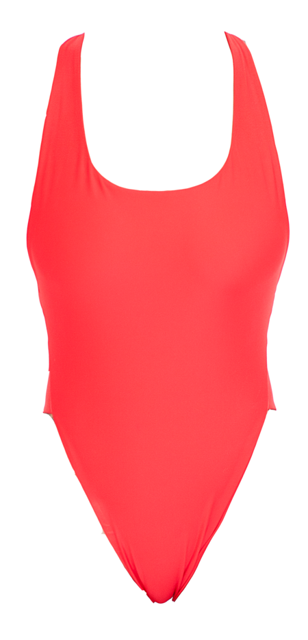 The Saltwater Collective Christina One Piece - Red