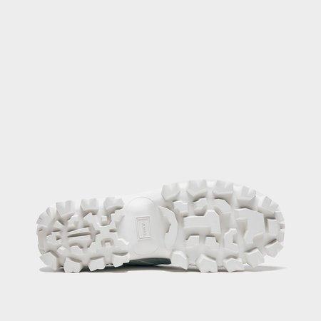 Juun.J Orange Trail Runner Sneaker - White/Neon Orange