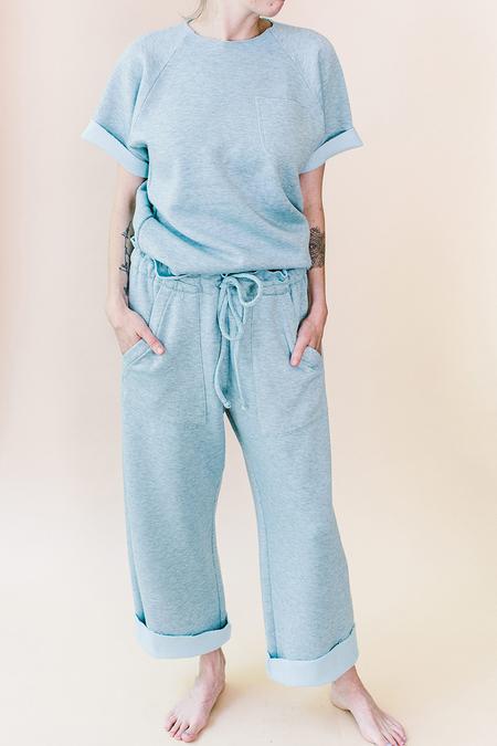 Meg Company Cozy Sweats - Aqua