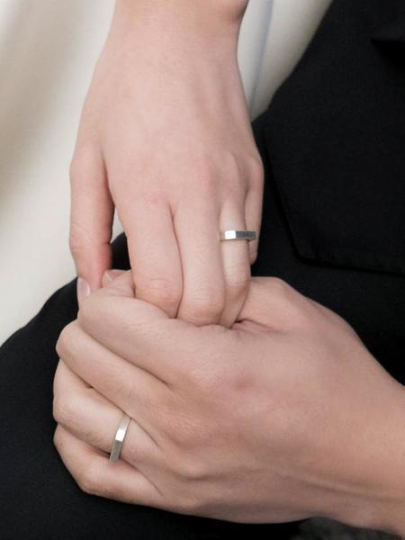 Unisex GOYU Cut Off Ring - Silver