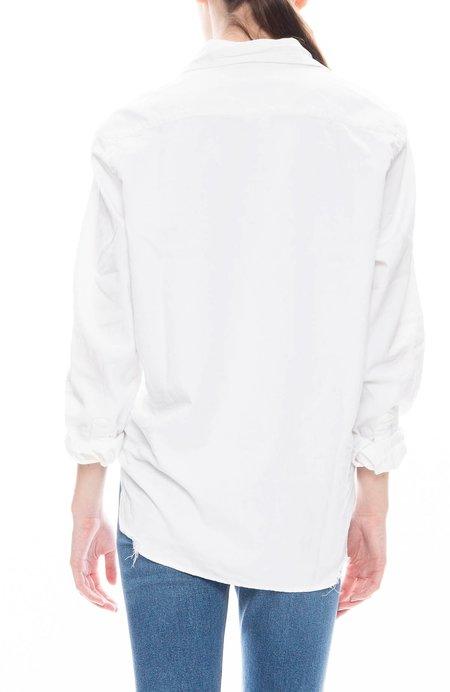 Frank & Eileen Eileen Solid Stonewashed Shirt - Stonewash White