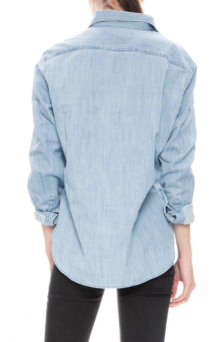 Frank & Eileen Eileen Stonewashed Denim Shirt - Stonewashed Blue