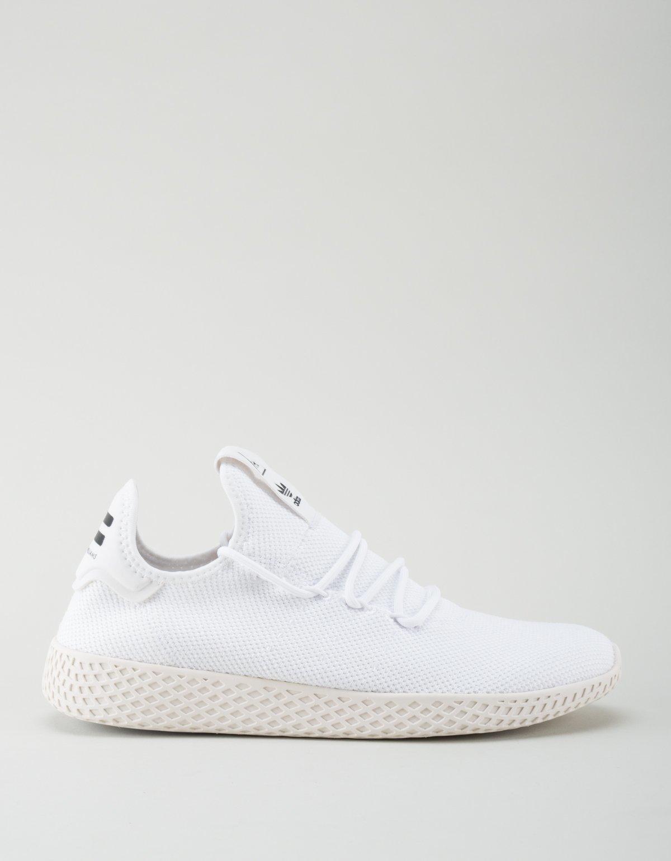 super popular f7dde 15d3d Adidas x Pharrell Williams Tennis Hu Sneakers - White   Garmentory