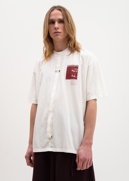 Komakino Relaxed Fit Vaughan T-Shirt - White