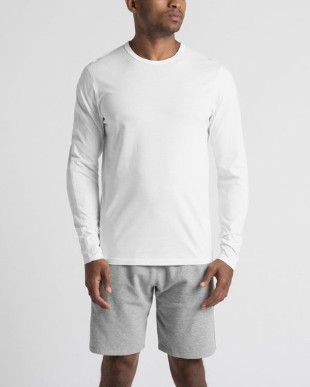 Reigning Champ Long Sleeve Tee - White