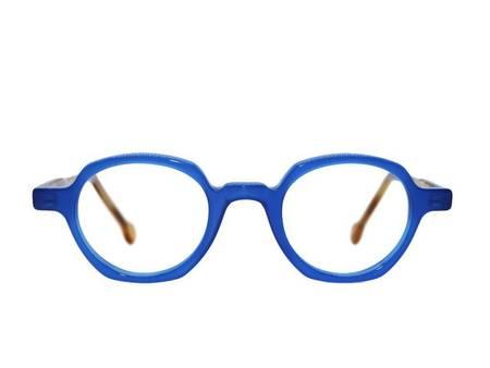 Frame Holland 780 Glasses - BLUE/BROWN