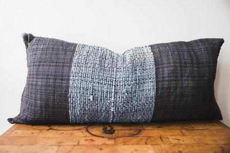 Jess Feury Pillow - Denim Tones