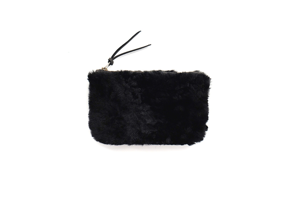Primecut BLACK FURRY MEDIUM POUCH