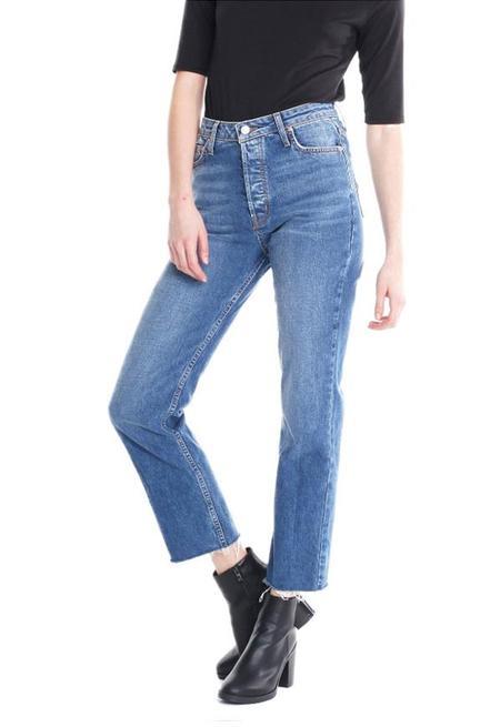 Michelle by Comune Aberdeen Thrift Vintage Wash Jeans - Indigo Thistle Wash