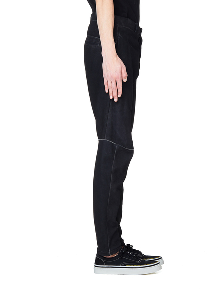 Isaac Sellam Pistonne Leather Trousers - Black