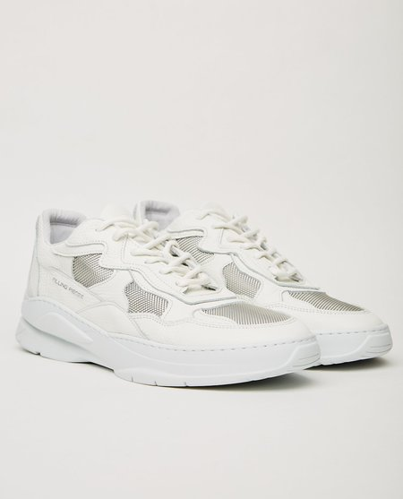 Filling Pieces LOW FADE COSMO MIX SNEAKER - WHITE