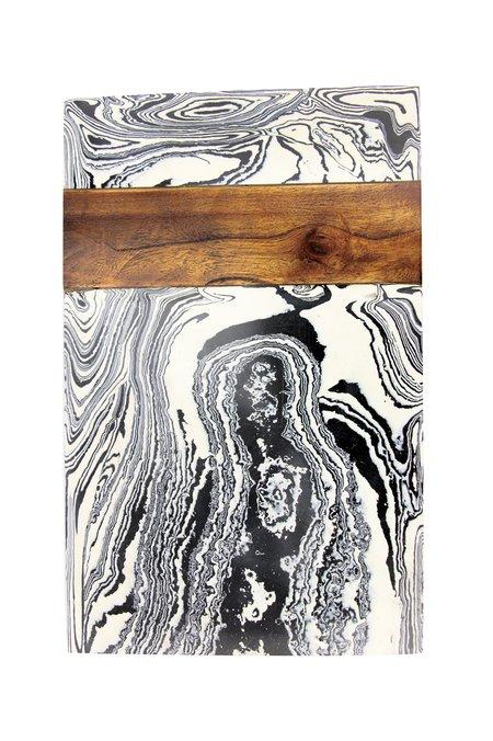 Be Home Zebra Marble Board