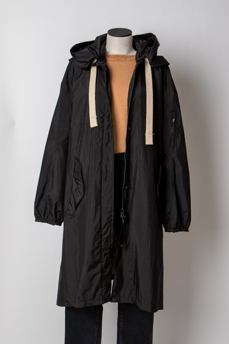 G-Lab Black Soley Coat - black