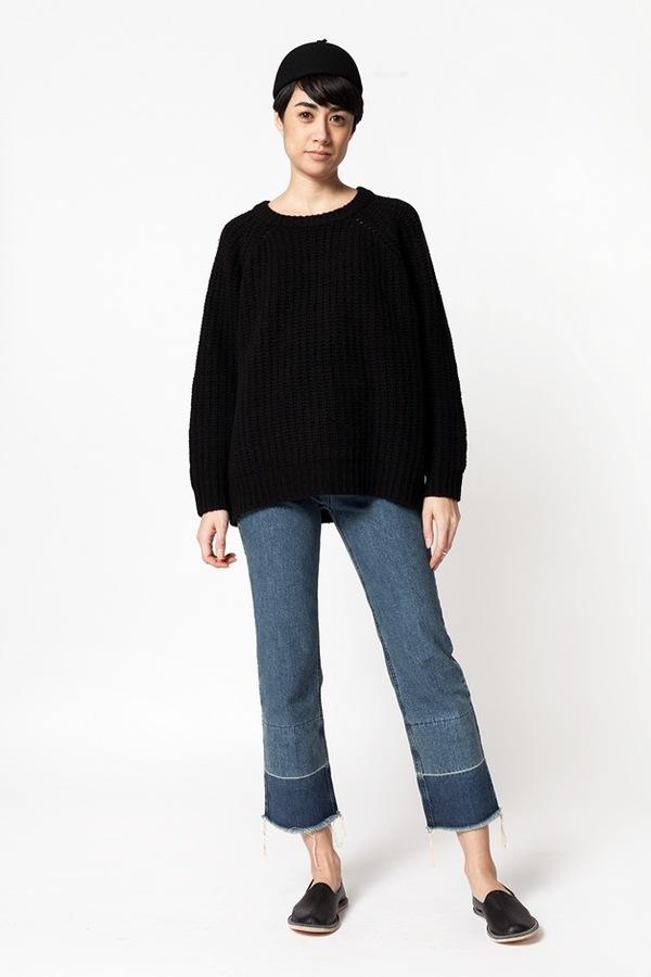 Ganni Chelsea Market Sweater - black