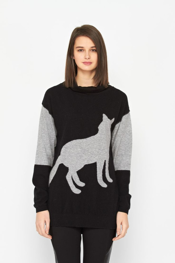 Melissa Nepton Fox sweater