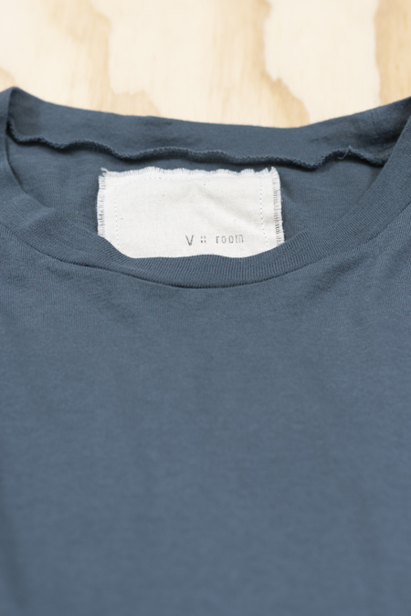 V :: ROOM Egyptian cotton jersey short sleeve crew t-shirt - Dark Slate