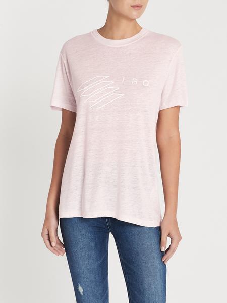 IRO Lucie Tee - Blush Pink