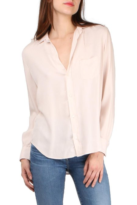 Frank & Eileen Eileen L/S Button Down - Blush
