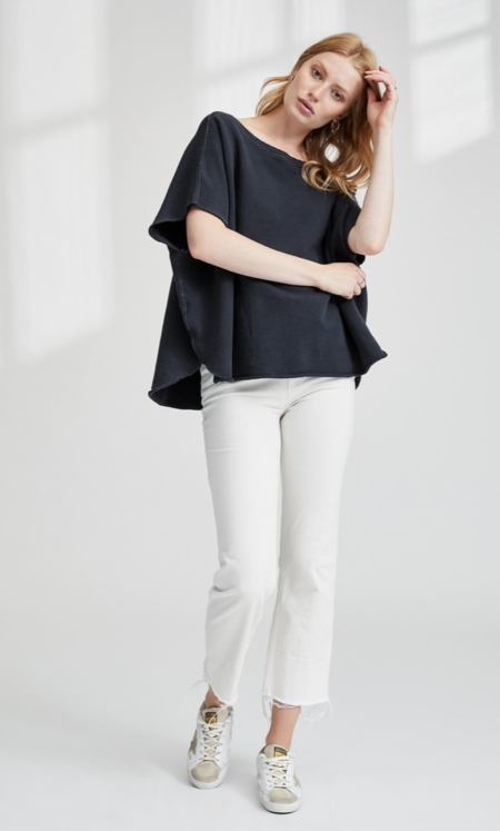 TEE LAB by FRANK & EILEEN LAB216 Capelet - Carbon