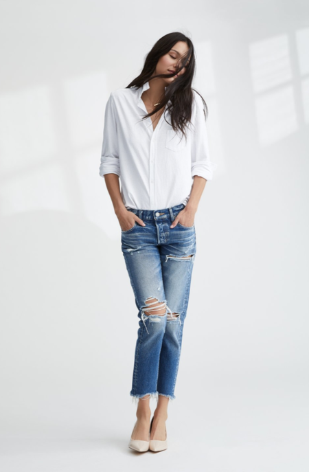 TEE LAB by FRANK & EILEEN LAB EILEEN shirt - Whiteout