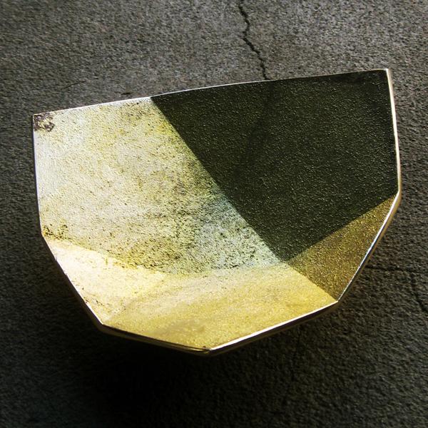 brass origami bowls