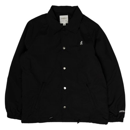 Gramicci Japan Shell Coach Jacket - Black