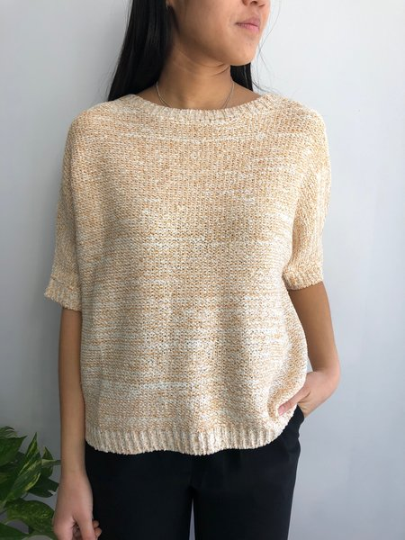PEPALOVES JILL SWEATER - YELLOW