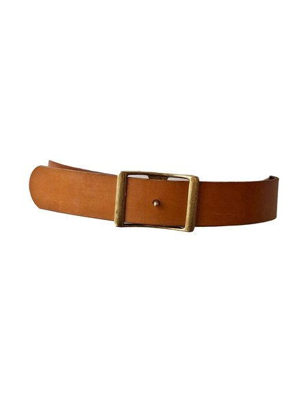 "C.S. Simko 1.75"" Leather Waist Belt"
