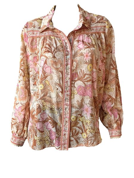 SPELL & THE GYPSY COLLECTIVE Jungle Blouse - Cream