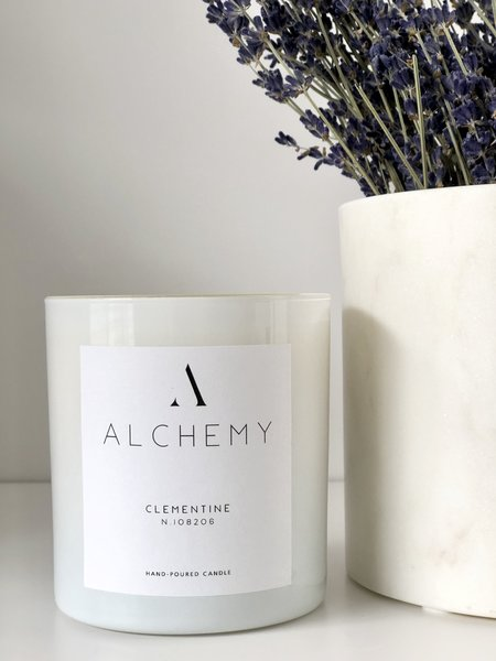 Alchemy Co. Clementine Candle