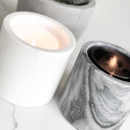 Alchemy Co. Marble Sleeve Candle