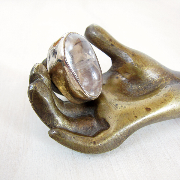 Peter Hofmeister solstice quartz ring