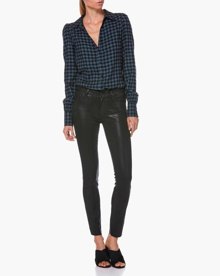 PAIGE Verdugo Ankle Luxe Coating pant - Black