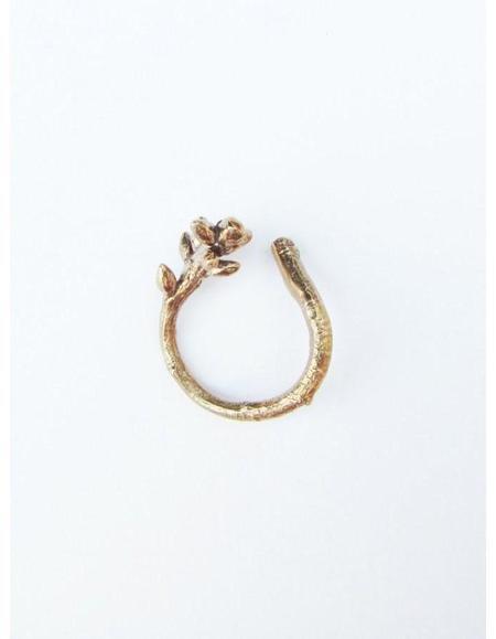 Kate Furman Jewelry Twig Wrap Ring - Bronze