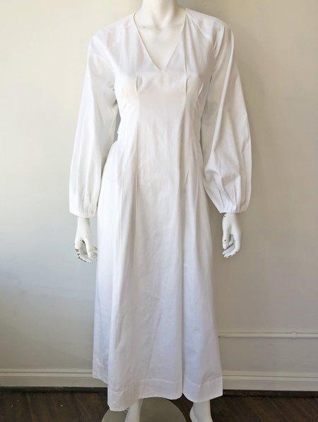 Mara Hoffman Vivica Tie Dress - WHITE