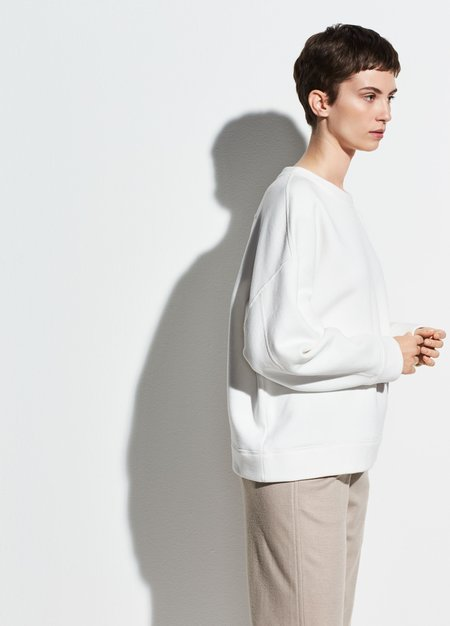 Vince Oversized Cotton Pullover