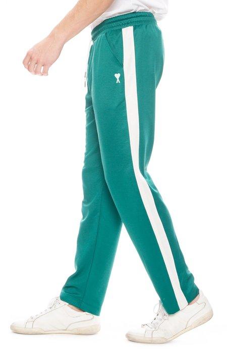 AMI Logo Track Pants - Green