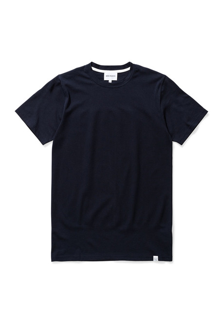 Norse Projects Niels Bubble T-shirt - Dark Navy