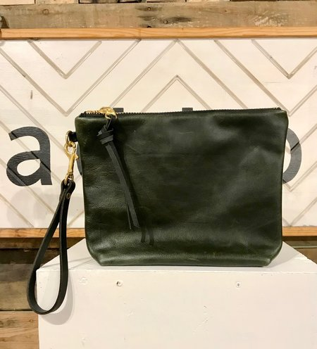 Eleven Thirty Hanna Large Clutch - Olive