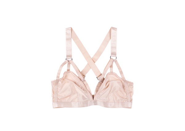 Lonely Lingerie - Lulu Softcup Bra (Shell)