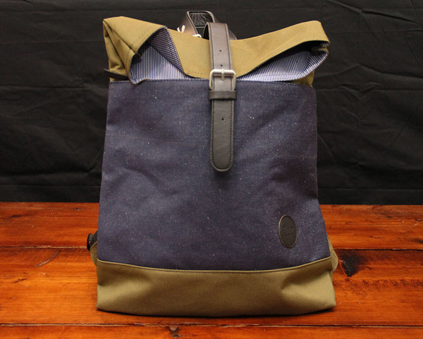 Enter Accessories - Fold Top Backpack
