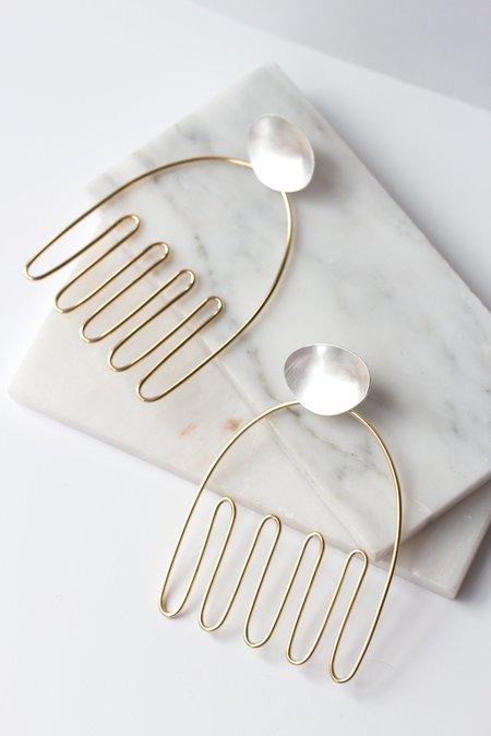 Laura Estrada Anemone Earrings