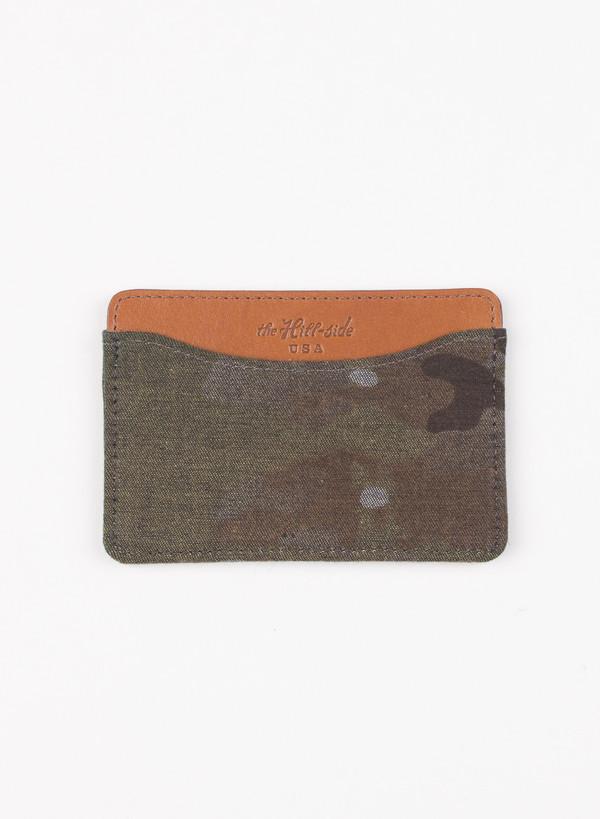 The Hill-Side Card Case Multi Cam Camo