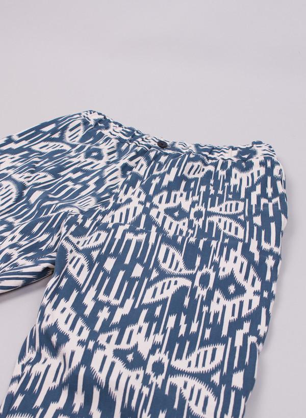 Men's Hentsch Man Carrot Trouser Moire Print