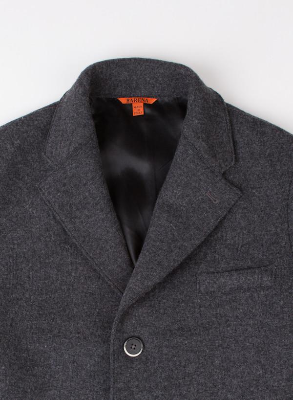 Men's Barena Coat Senser Dark Grey