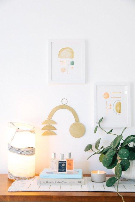 Roost Onyx Lamp - Cream