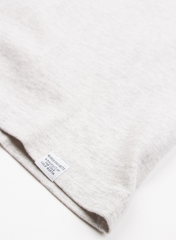 Men's Norse Projects James Moulinex Ecru Melange