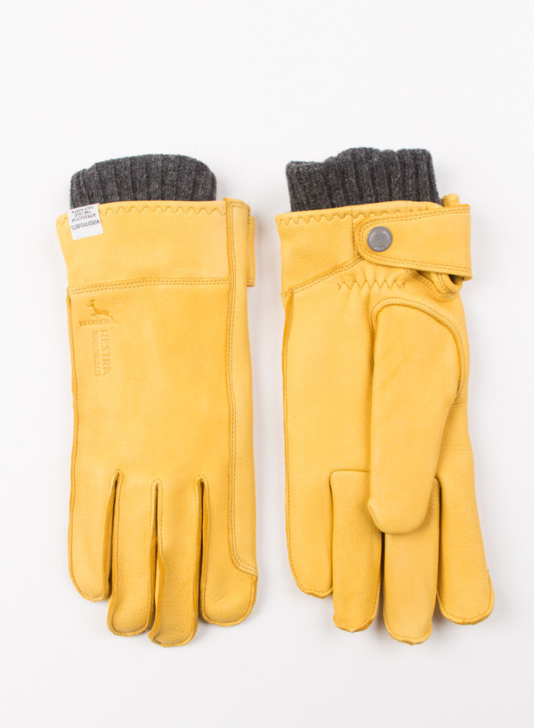 Men's Norse Projects Norse Hestra Ivar Misted Yellow