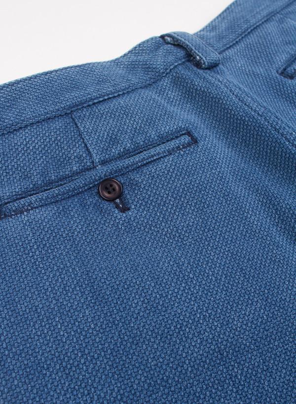 Men's Blue Blue Japan Pure Indigo Dyed Sashiko Shorts